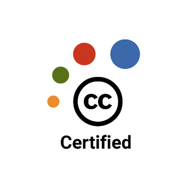 Creative Commons certified